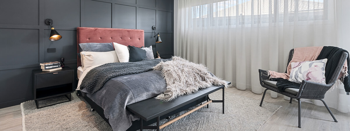 Virtue Homes Display Home Traralgon - Master bedroom