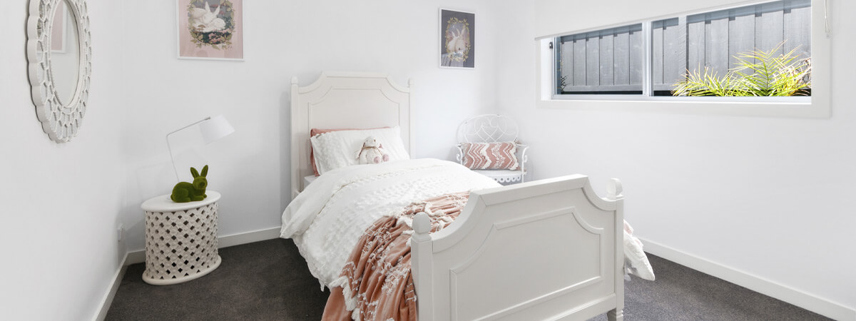 Virtue Homes Display Home Traralgon - childs bedroom