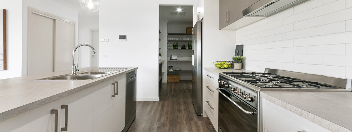 Virtue Homes Display Home Traralgon - butlers pantry