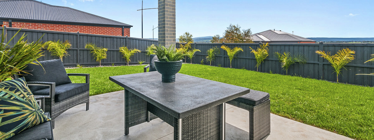 Virtue Homes Display Home Traralgon - outdoor area