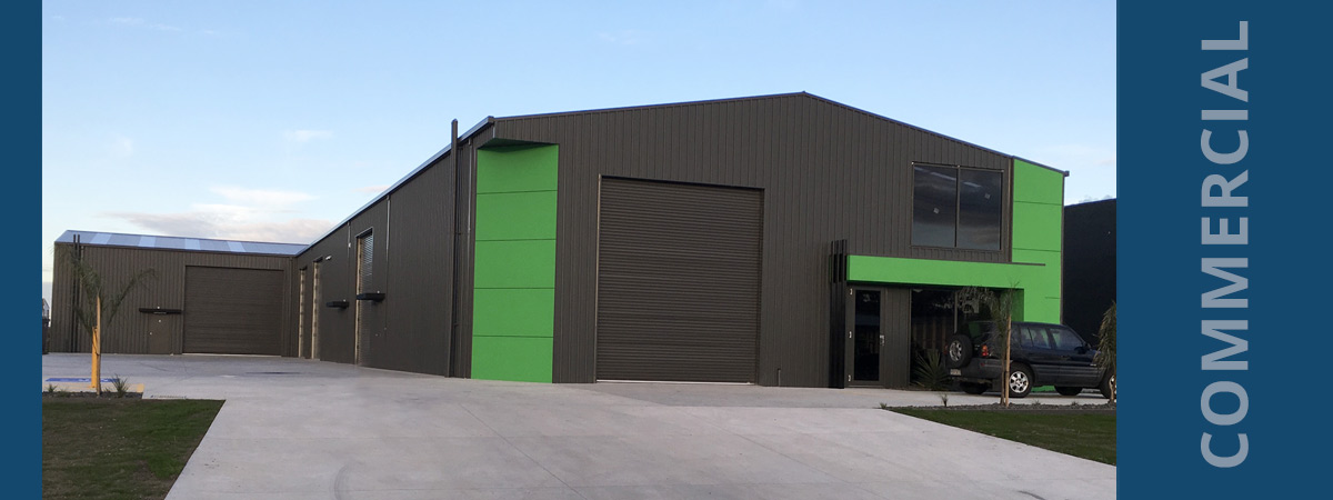 Virtue Constructions Industrial Shed