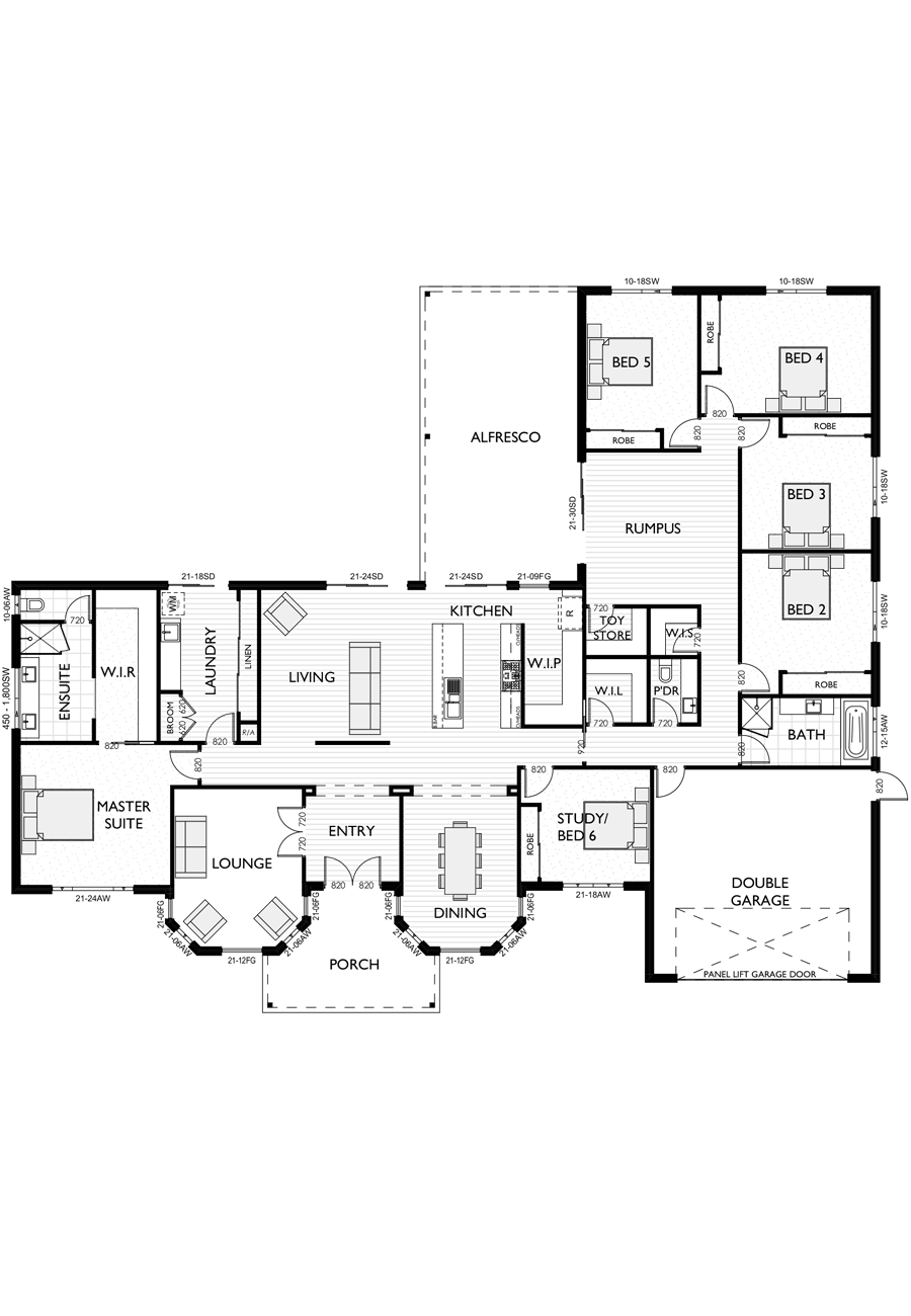 Ranch Style Floor Plan for Virtue Homes Nashville 42 amily home