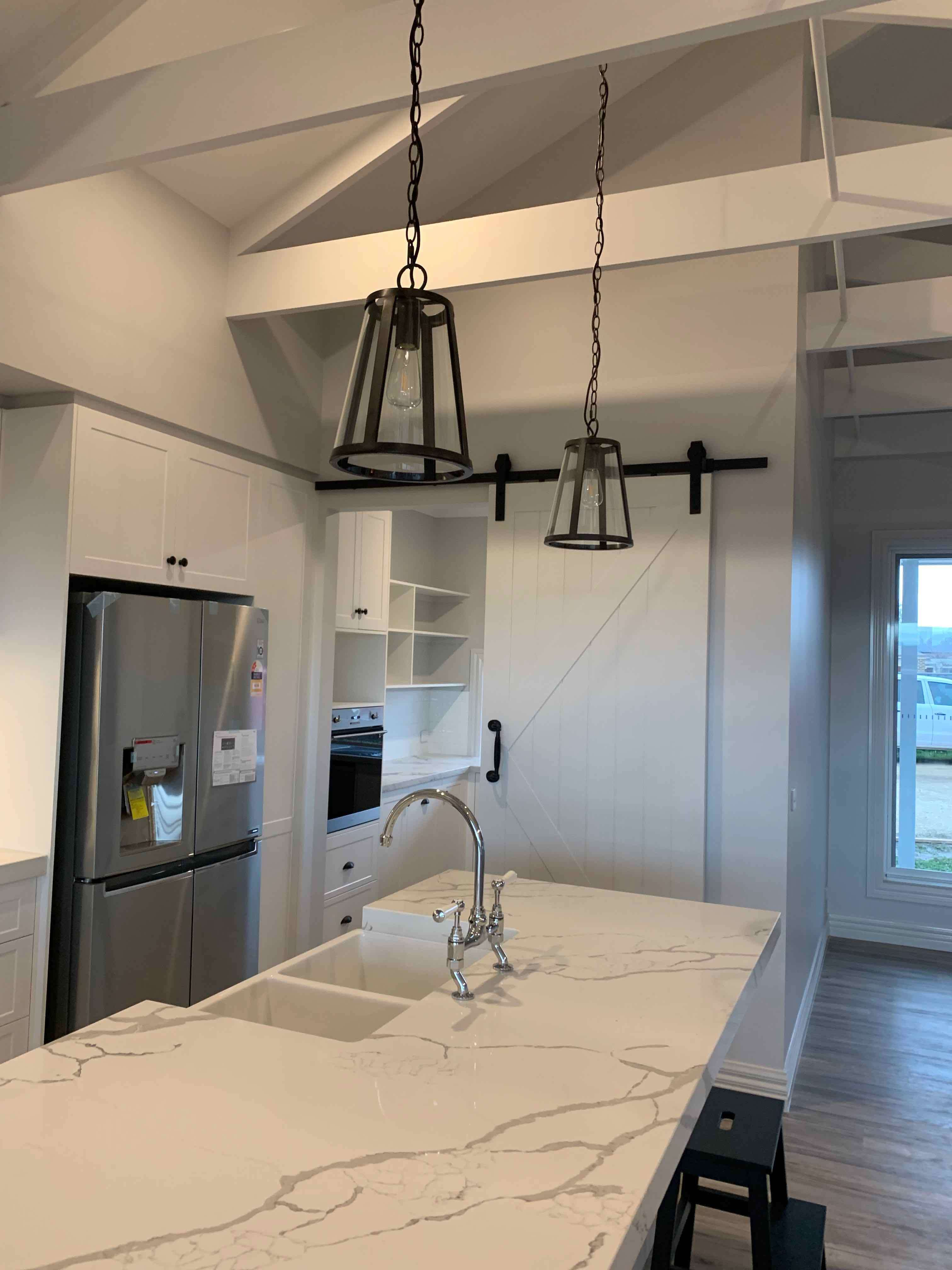 Kitchen in Ranch Style home by Virtue Homes