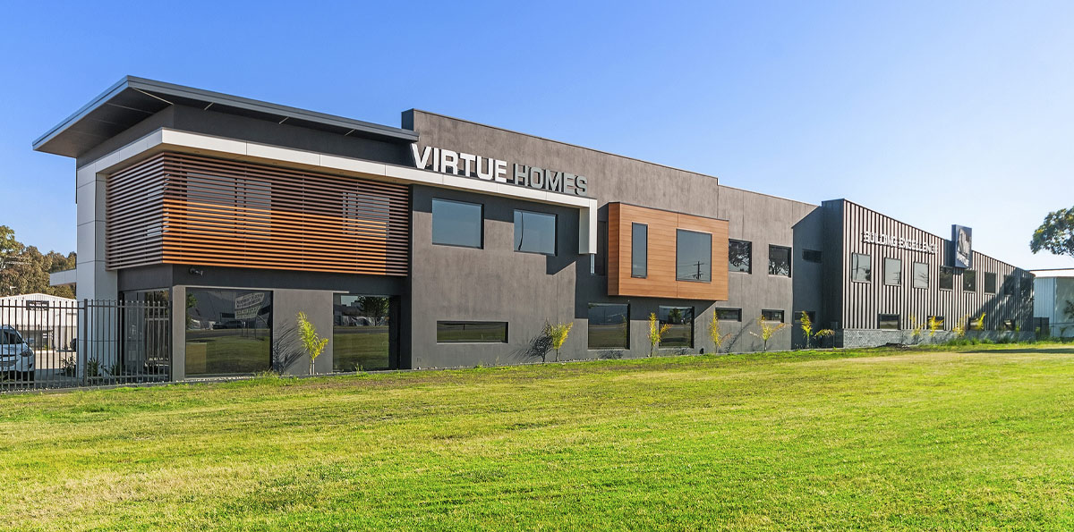 New Showroom for Virtue Homes in Traralgon