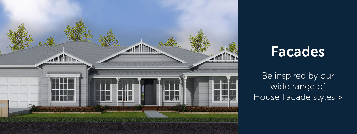 House Facades by Virtue Homes