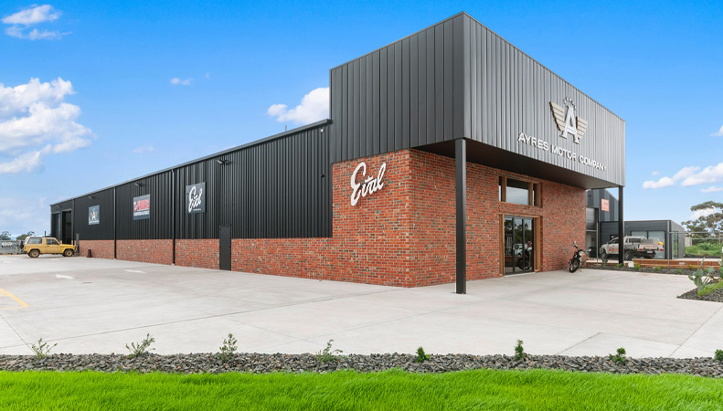 Ayres Automotive new showroom by Virtue Homes