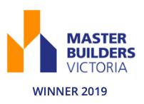 2019 Master Builders Victoria Winner